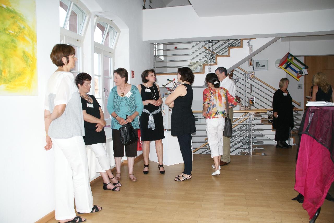 Vernissage der Kreativwerkstatt Gross-Zimmern