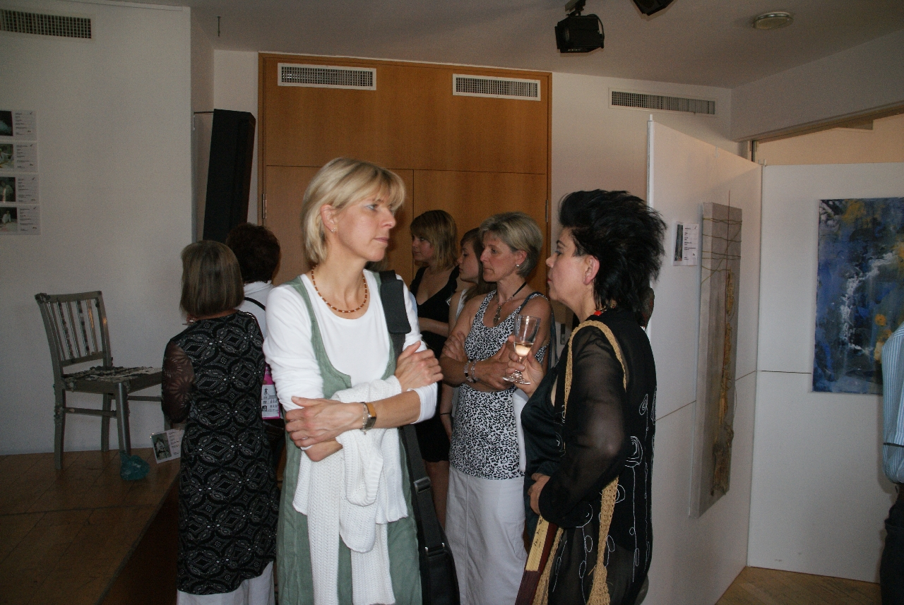 Vernissage der Kreativwerkstatt Gross-Zimmern
